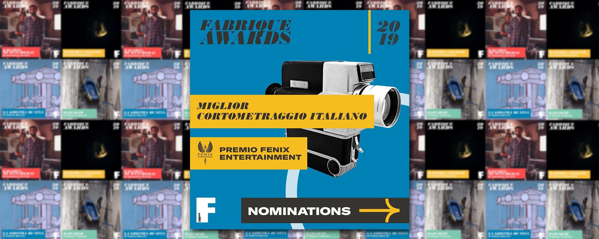 Fenix Entertainment partner dei Fabrique Du Cinema Awards 2019