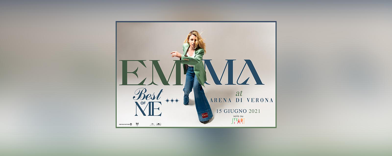 "Emma Marrone ""Best of me at Arena di Verona"""